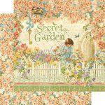 Graphic 45 - Secret Garden Collection - 12 x 12 Double Sided Paper - Secret Garden