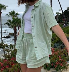 Pretty Outfits, Cool Outfits, Summer Outfits, Casual Outfits, Look Fashion, Korean Fashion, Fashion Outfits, Fashion Tips, Fashion Hacks
