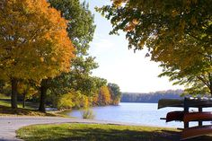 Fall foliage at Marsh Creek State Park, Pennsylvania State Parks by Pennsylvania State Parks, via Flickr