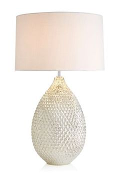 Buy Champagne Glamour Glass Dual Light Source Table Lamp from the Next UK online shop