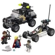 Marvel Superheroes: Avengers Hydra Showdown £20.99 Offroader, Thor, 4x4, Avengers, Monster Trucks, Lego, Product Launch, Marvel, Vehicles