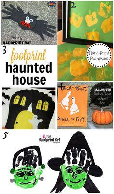 Top 10 Halloween Handprint and Footprint Crafts