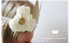 Princess hats. Via Jones Design Company.  Her blog is fabulous!