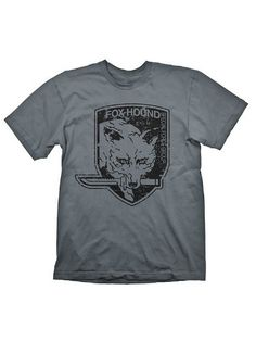 028f8d1f7c9 Metal Gear Solid Foxhound T-Shirt - Size Large Manufacturer  Gaya  Entertainment Enarxis Code  016405