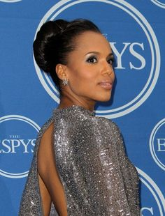 Google Image Result for http://hairstylesweekly.com/images/2012/07/Kerry-Washington-Classic-High-Bun-Updo.jpg