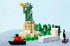 The lego statue of liberty
