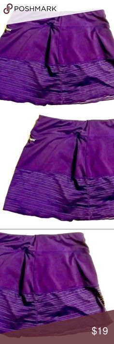 HEAD Dark Plum Exercise Tennis Skort XS Excellent condition, as pictured. Dark Plum color, silky smooth and cool. Head Shorts Skorts