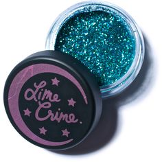 Lime Crime Cancer Zodiac Eye Glitter ($13) ❤ liked on Polyvore featuring beauty products, makeup, eye makeup, beauty, eyeshadow, cosmetics, eyes, eye shimmer makeup, lime crime cosmetics and shimmer makeup