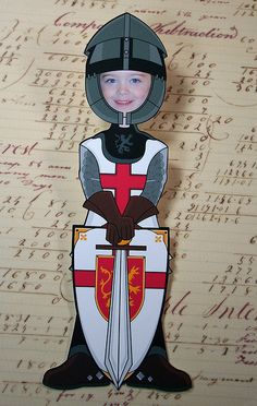Knight Birthday Party invitation by MollyLeeCards, via Flickr