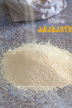 Everything you wanted to know about Amaranth grain but were afraid to ask. Learn how easy it is to cook and eat. What to do with amaranth. What is amaranth. How to store amaranth. How To Cook Amaranth, Amaranth Grain, Amaranth Flower, Amaranth Recipes, Gourmet Recipes, Healthy Recipes, Healthy Tips, Lamb Skewers, Vegan Treats