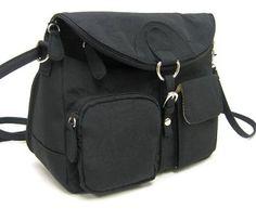 Multi Sac 3 in 1 Convertible Handbag BLACK