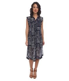 Free People Printed Check Chiffon Mercer Street Maxi Midnight Combo - Zappos.com Free Shipping BOTH Ways