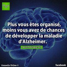 Plus vous êtes organisé, moins vous avez de chances de développer la maladie d'Alzheimer. | Saviez Vous Que?