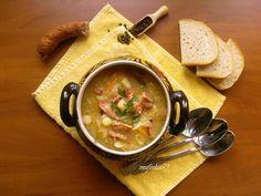 kuchnia na obcasach: Kapuśniak z kiszonej kapusty