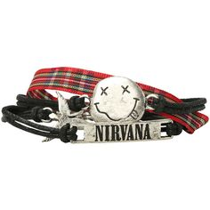 Nirvana Bracelet 4 Pack Hot Topic ($11) ❤ liked on Polyvore featuring jewelry, bracelets, accessories, bracelet jewelry and bracelet bangle