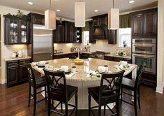 Home Remodeling Modern Wonderful Unique Ideas: Kitchen Remodel Countertops Hardware kitchen remodel design dining rooms. Studio Kitchen, Kitchen Redo, Kitchen Layout, New Kitchen, Kitchen Ideas, Ranch Kitchen, 1950s Kitchen, Kitchen Islands, 10x10 Kitchen