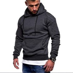 Men's Clothing Strong-Willed Brand 2018 Hoodie Solid Color Stripe Hoodies Men Fashion Tracksuit Hip-hop Male Sweatshirt Hoody Mens Purpose Tour Xxxl Fine Craftsmanship