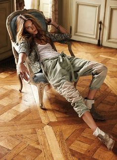 Erin Wasson for Zadig et Voltaire's Spring / Summer 2012 lookbook.