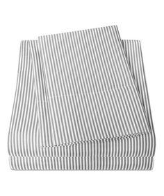 Love This Gray Modern Classic Stripe Sheet Set On #zulily! #zulilyfinds