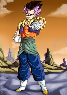 yo folks ^^ we have here a fusion of Vegetto and Gotrunks, enjoy