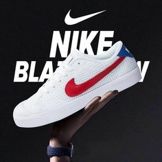 the best attitude af837 927dd Nike All Court 2 Low White Red Blue  MensFashionSneakers