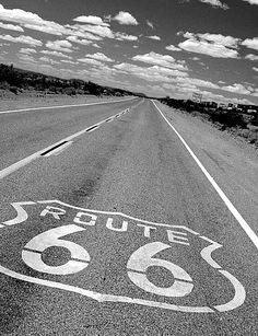Go on a road trip across route 66 (motels please!)