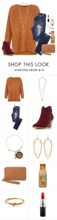 """I have never had a pizza delivery woman in all of my life..."" by kaley-ii ❤ liked on Polyvore featuring Lulu*s, Dorothy Perkins, Kendra Scott, Tory Burch, Wanderlust + Co, MAC Cosmetics, Kate Spade, women's clothing, women and female"