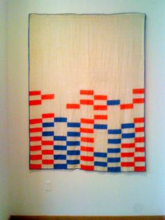 my photo from the Mingei's Bold Expressions Exhibit of African American Quilts by a single collector