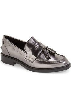 COACH 'Izabella' Tassel Loafer (Women) available at #Nordstrom