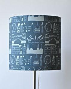 Hand-Made London Print Lampshade £25.00