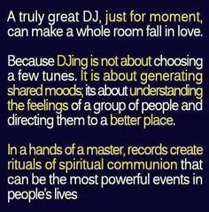 DJ quote: think about this before you decide to play music on your iPod...especially for special events like your…