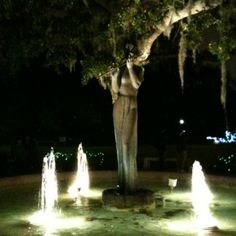 """""""The Flute Lady Player"""" by Diego Alfarez. Located in Besthoff Sculpture Garden, New Orleans City Park"""