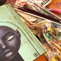 Paintings, Portrait, Instagram, Art, Art Background, Paint, Headshot Photography, Painting Art, Kunst
