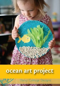 Looking for a fun and easy preschool craft? Click here for a under the sea art tutorial for kids. >>