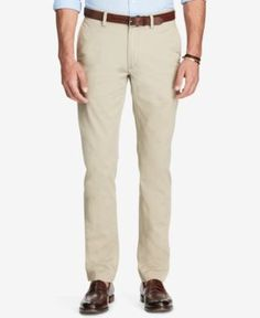 Polo Ralph Lauren Men's Slim-Fit Chino Pants - Light Beige 32x34