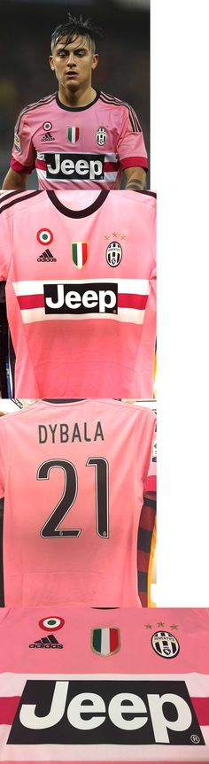Men 123490: 2015 16 Adidas Juventus Away Pink Jersey Large Nwt Men S Dybala With Patch -> BUY IT NOW ONLY: $129.99 on eBay!