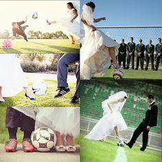 My dreamed soccer wedding.