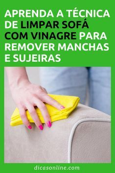 Limpar sofá com vinagre Diy Cleaning Products, Cleaning Hacks, Diy Storage Jars, Interior Design Living Room, Living Room Designs, Home Hacks, Clean House, Plastic Cutting Board, Helpful Hints