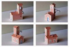Drying Installation Free Building Paper Model Download