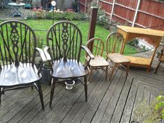 I was really pleased when I awoke to beautiful sunshine on Saturday morning! Lots of projects to get underway outside. Weekend Projects, Saturday Morning, Dining Chairs, Rose, Vintage, Home Decor, Dinner Chairs, Homemade Home Decor, Dining Chair