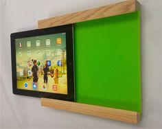 qupod wall mounted ipad holder by qubis design | notonthehighstreet.com Mount to the wall-have students do self assessments using a polling app leaving the classroom