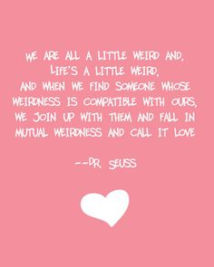 The quote from our wedding orders of service :-)