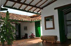 Barichara, Colombia: Hermosos techos con teja de barro