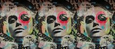 Dain is a street artist from Brooklyn, NY. His medium is collage and if I say so myself….his creations are amazingly COOL. His style is immediately recognizable, with neon highlights and circled eyes. When I started researching articles for this… read . Street Artists, Brooklyn, Highlights, Articles, Collage, Neon, Hands, Eyes, Cool Stuff