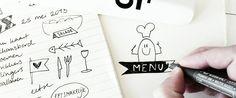 art, design, handmade, craft, graphic design, menu by Jans' Ontwerpfabriek Handmade Design, Menu, Bullet Journal, Graphic Design, Crafts, Art, Menu Board Design, Art Background, Manualidades