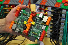 Named after the University of Southampton& Iridis super computer, Professor Simon Cox& Iridis-Pi is a supercomputing cluster consisting of 64 Raspberry Pi single board computers enclosed in a modular LEGO rack enclosure. Raspberry Pi Computer, Diy Electronics, Electronics Projects, Cool Raspberry Pi Projects, Innovation, Rasberry Pi, Software, Computer Build, Computer Hardware