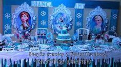 Resultado de imagen para decoracion tematica frozen