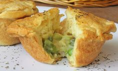 Chicken Pot Pie Muffins.