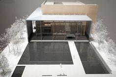 「東京国立博物館 法隆寺宝物館」谷口吉生 (1999)
