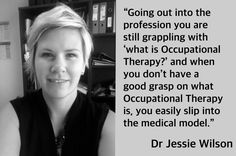 014 - Exploring the Experiences of Three Early Career Academics - Brock Cook What Is Occupational Therapy, Jessie, Clinic, Countries, Backgrounds, Challenges, Medical, Medicine, Med School